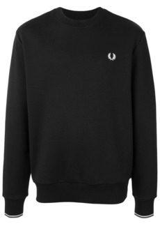 Fred Perry embroidered logo crew-neck sweatshirt