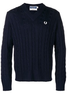 Fred Perry embroidered logo jumper