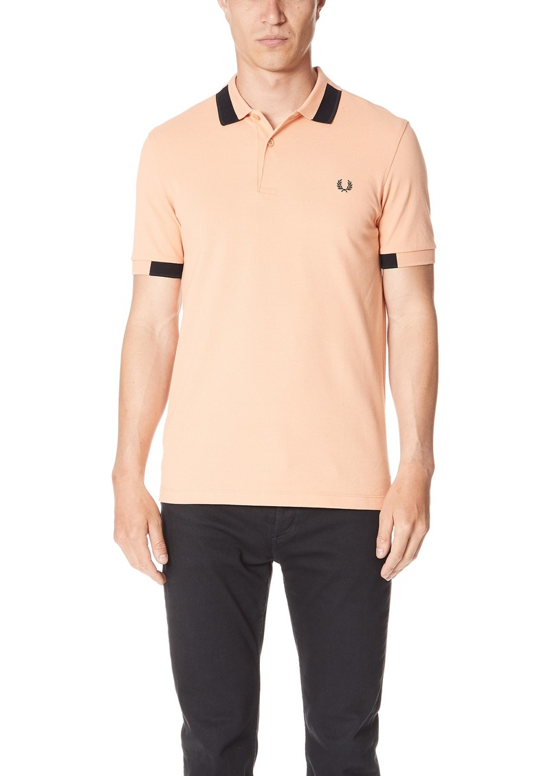8a49eb75c Fred Perry Fred Perry Block Tipped Pique Shirt Now $66.00