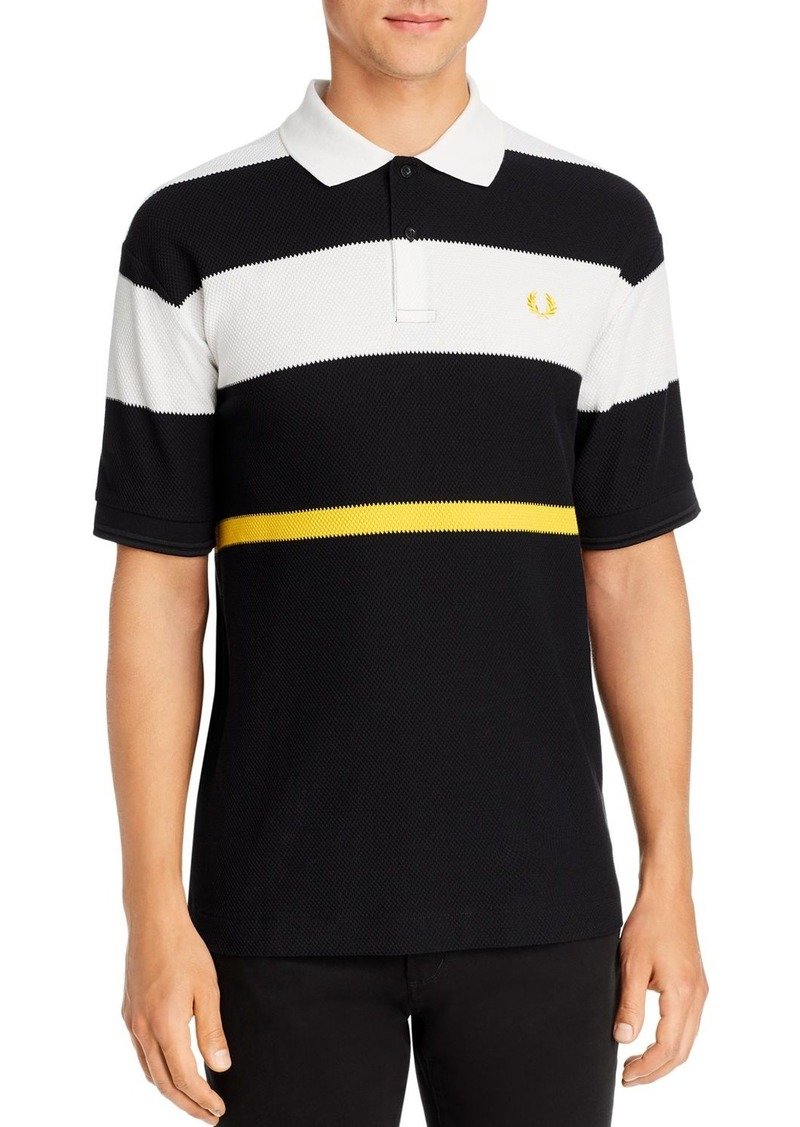 Fred Perry Bold Stripe Polo Shirt
