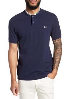 Fred Perry Bomber Collar Piqué Shirt