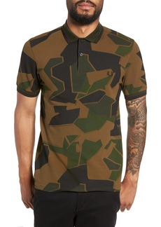 Fred Perry Camouflage Piqué Polo