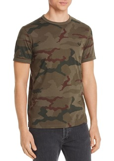 Fred Perry Camouflage-Print Tee