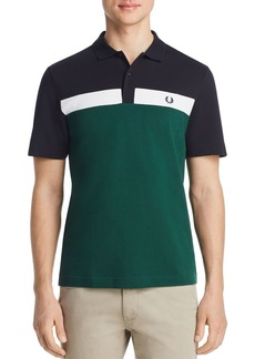 Fred Perry Color-Block Piqu� Classic Fit Polo Shirt