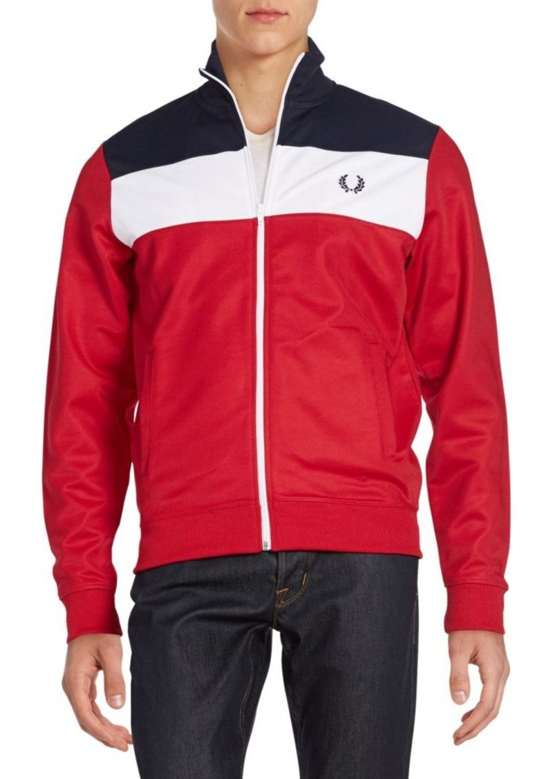 Fred Perry Colorblock Track Jacket