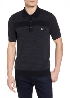 Fred Perry Crepe & Piqué Polo