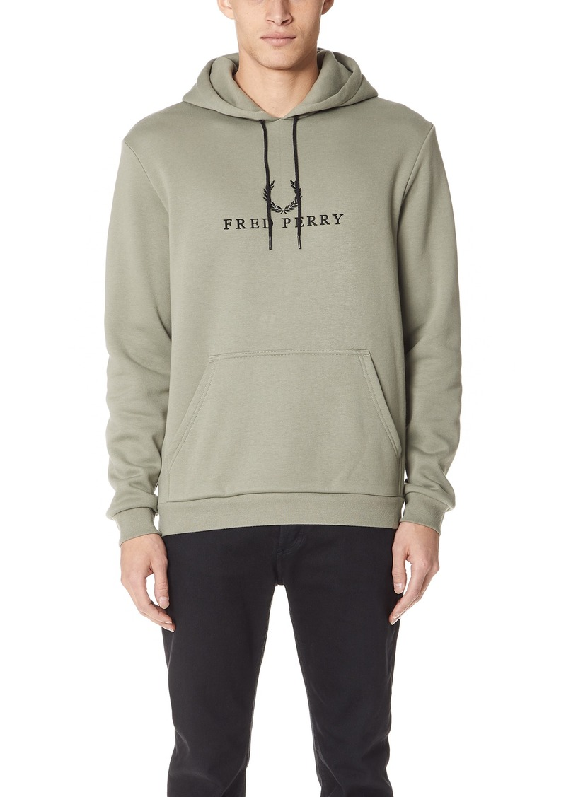 84d822ef2 Fred Perry Fred Perry Embroidered Hooded Sweatshirt