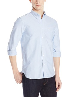Fred Perry Men's Classic Oxford Shirt Light Smoke Oxford Core