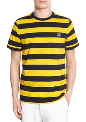 Fred Perry Extra Trim Fit Wide Stripe Cotton T-Shirt
