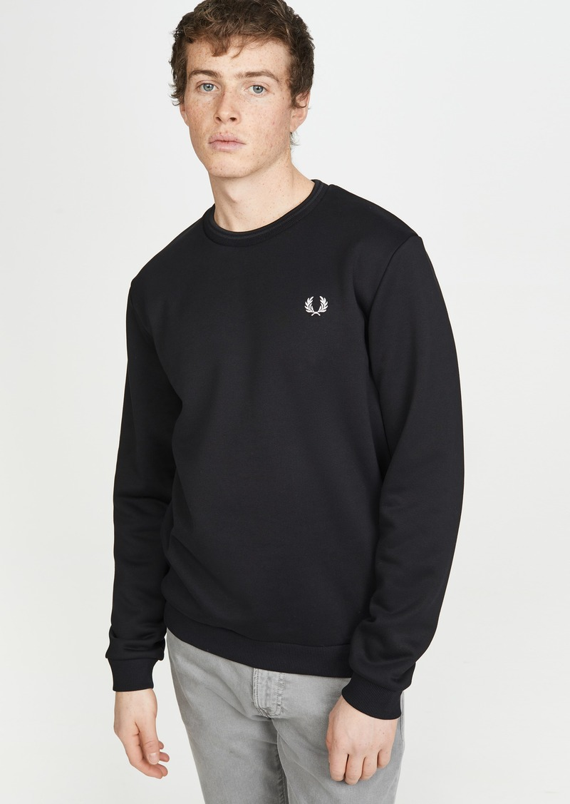 Fred Perry Laurel Wreath Crew Neck Sweatshirt