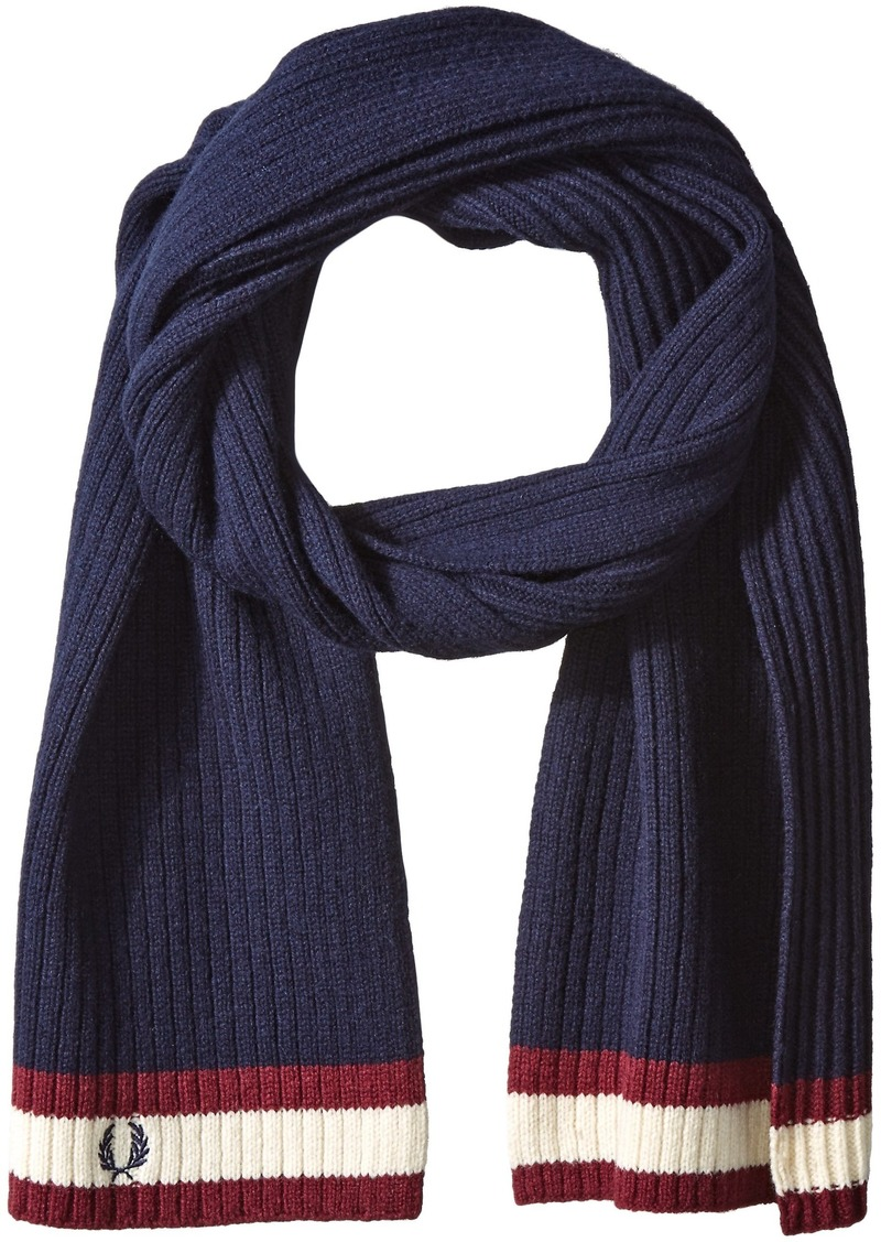 Fred Perry Men's Bomber Tipped Scarf