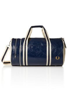 Fred Perry Men's CLASSIC BARREL BAG Accessory -navy/ecru One Size