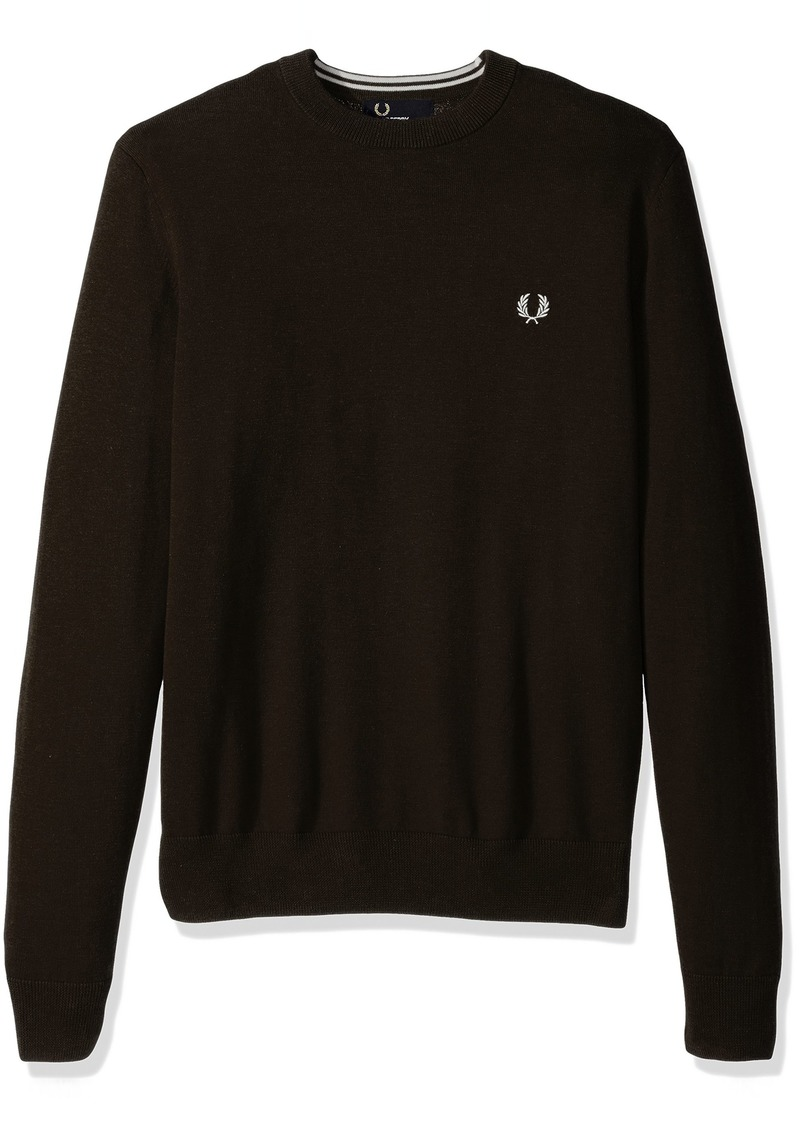 Fred Perry Men's Classic Cotton Crew Neck