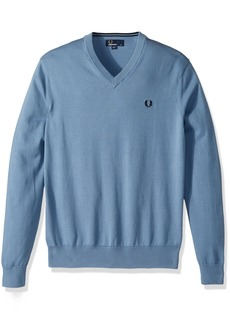 Fred Perry Men's Classic Cotton V-Neck