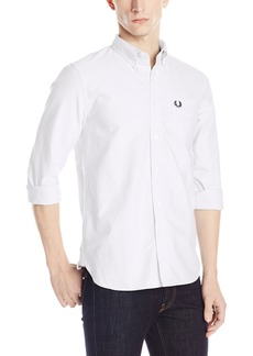 Fred Perry Men's Classic Oxford Shirt White