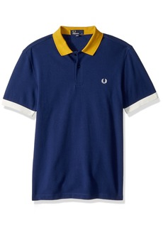 Fred Perry Men's Colour Block Pique Shirt