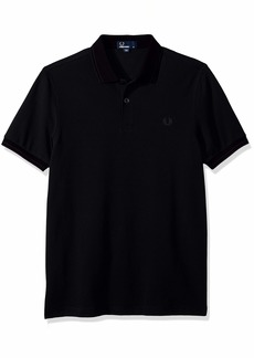 Fred Perry Men's Contrast Rib Pique Shirt  M
