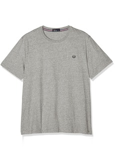 Fred Perry Men's Crew Neck T-Shirt Shirt Vintage Steel MA