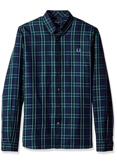 Fred Perry Men's Enlarged Tartan Shirt