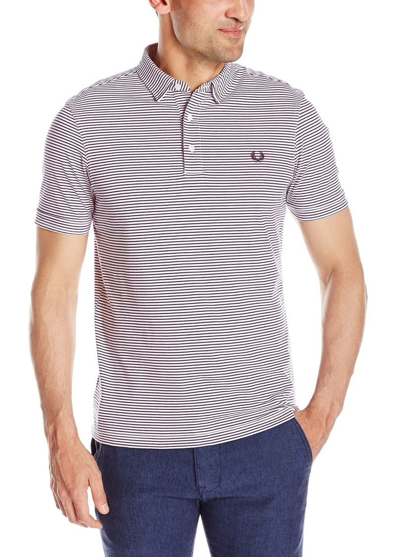 Fred perry fred perry men 39 s fine stripe shirt medium for Fred perry mens shirts sale