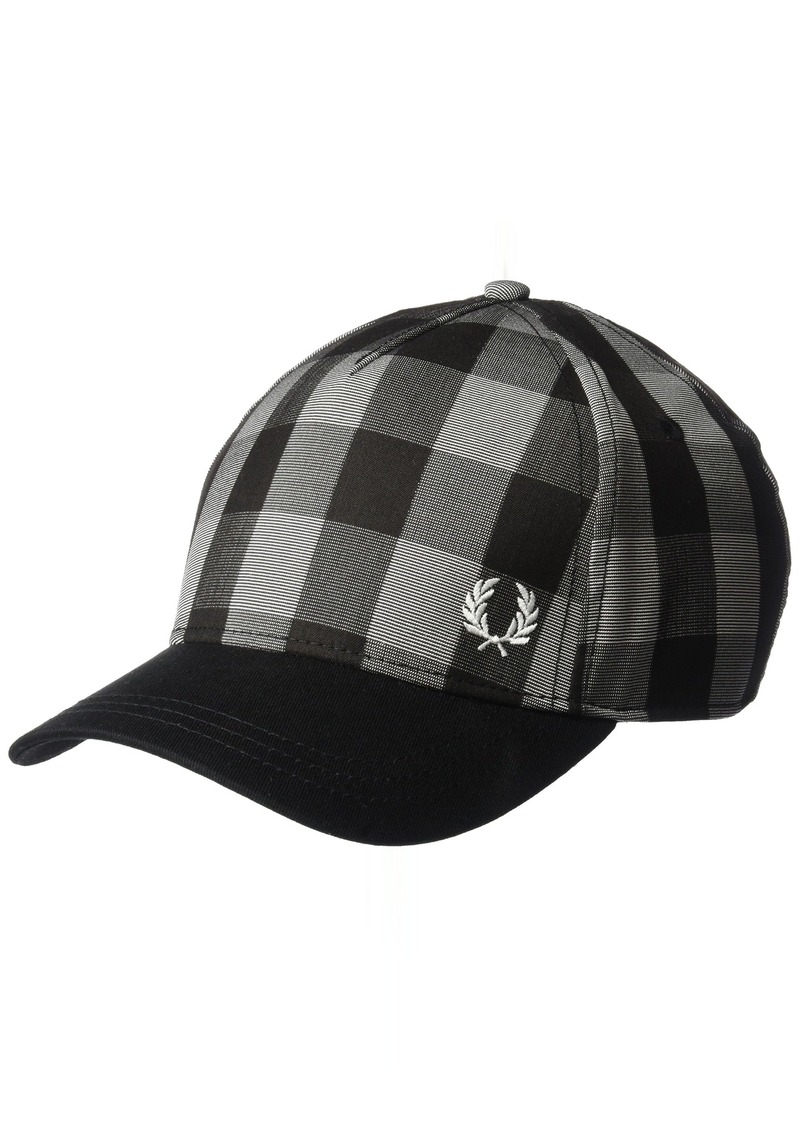 889280ab0f8 Fred Perry Fred Perry Men s Gingham Baseball Cap