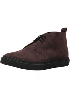 Fred Perry Men's Hawley MID Suede Sneaker
