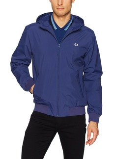 Fred Perry Men's Hooded Brentham Jacket Medieval