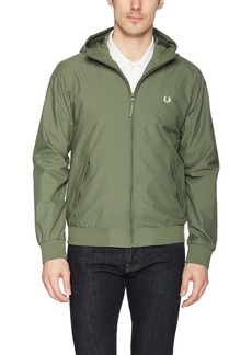Fred Perry Men's Hooded Brentham Jacket Olive drab