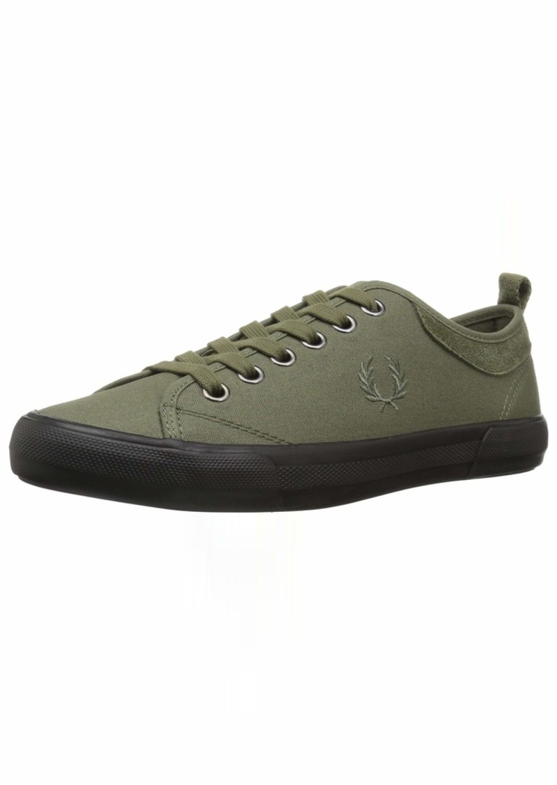 Fred Perry Men's Horton Waxed Canvas/Suede Sneaker  11 D UK ( US)