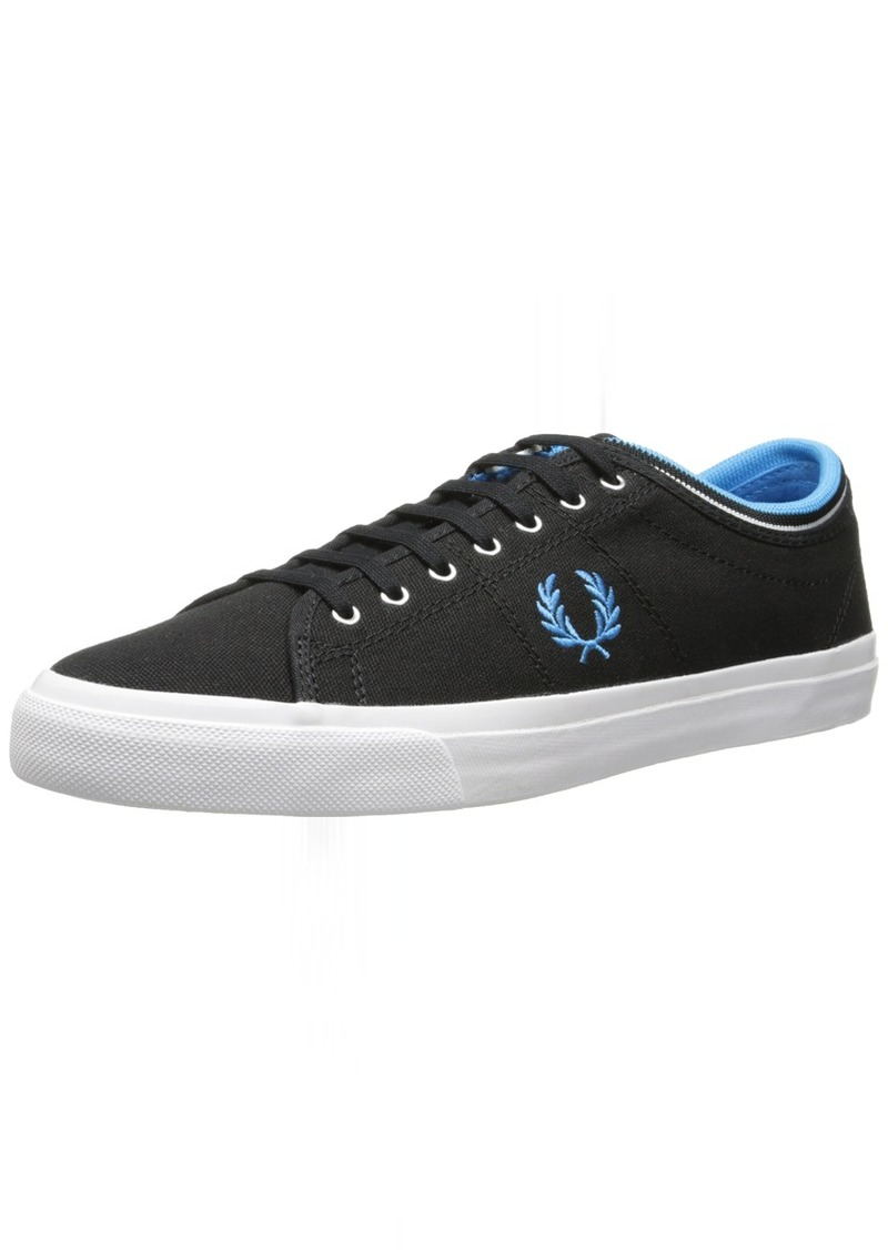 Fred Perry Men's Kendrick Tipped Cuff Canvas Fashion Sneaker