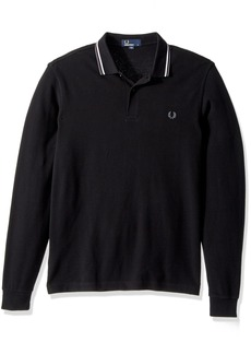 Fred Perry Men's Ls Twin Tipped Shirt