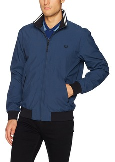 Fred Perry Men's Micro Dot Brentham Jacket Service