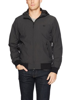 Fred Perry Men's Micro Dot Hooded Brentham Jacket