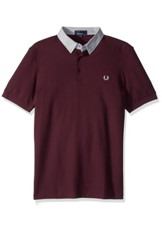 Fred Perry Men's Microsquare Collar Pique Shirt