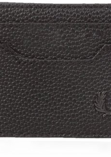Fred Perry Men's Scotch Grain Card Holder Black