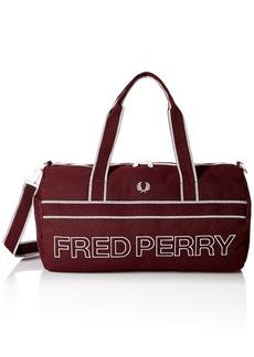 Fred Perry Men's Sports Canvas Barrel Bag