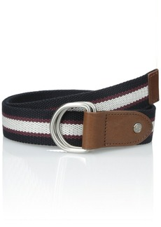 Fred Perry Men's Striped Webbing Reversible Belt