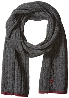 Fred Perry Men's Tipped Cable Scarf