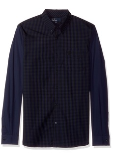 Fred Perry Men's Tonal Gingham Shirt