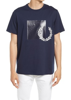 Fred Perry Men's Tonal Graphic Tee