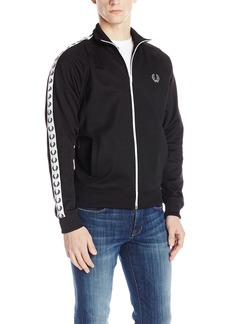 Fred Perry Men's Tricot Track Jacket  A