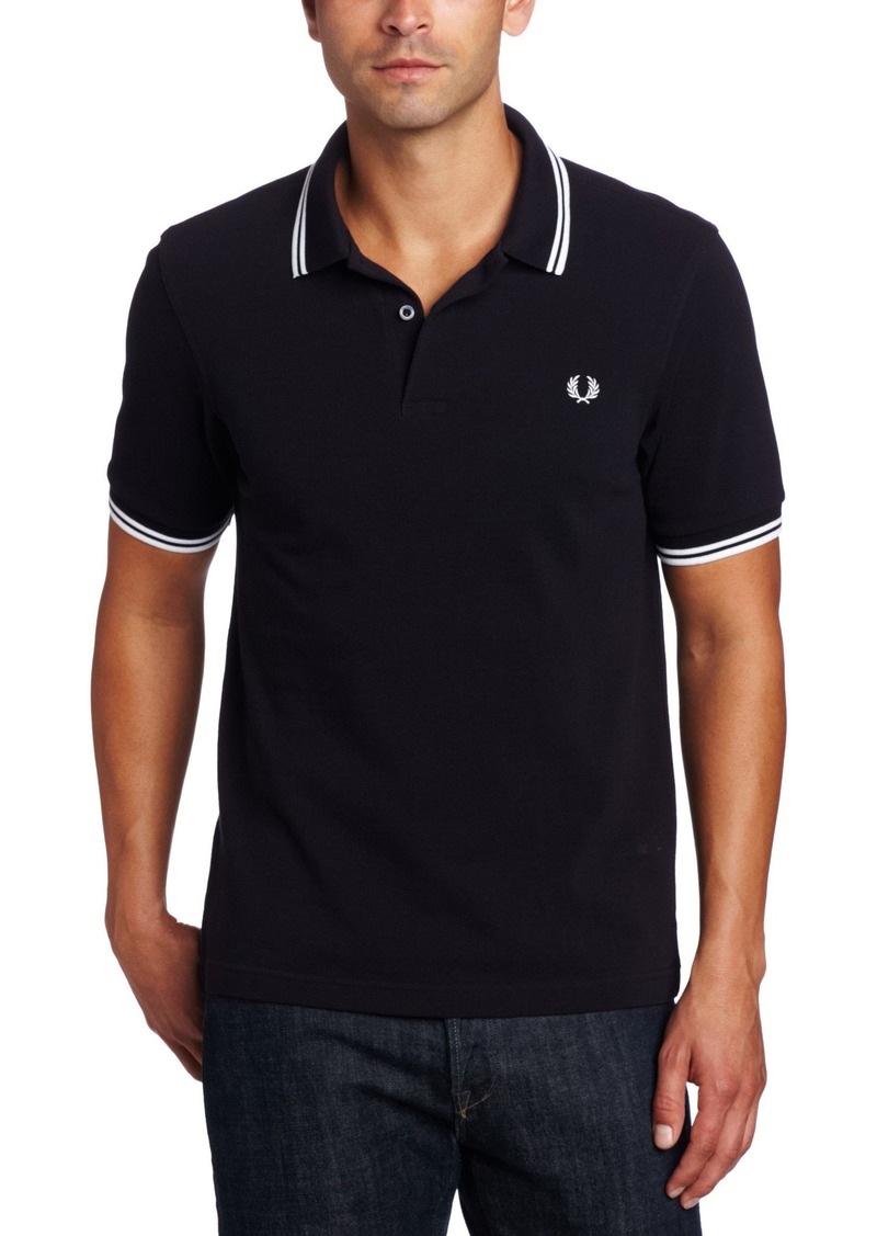 fred perry fred perry men 39 s twin tipped polo shirt m3600. Black Bedroom Furniture Sets. Home Design Ideas