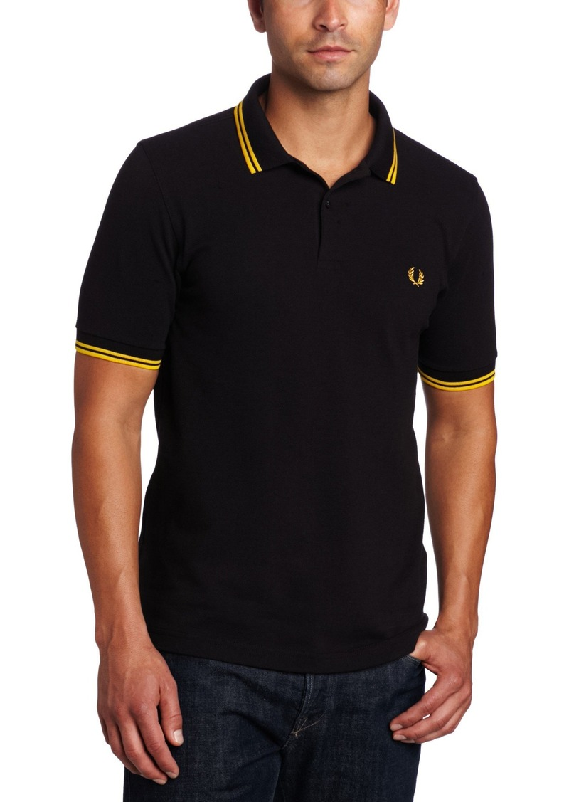 Fred Perry Fred Perry Mens Twin Tipped Polo Shirt M3600 Xx Large