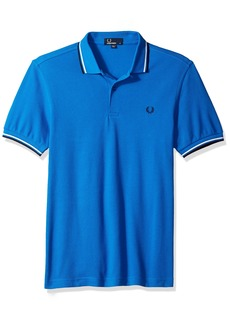 Fred Perry Men's Twin Tipped Shirt Prblu/SW/Navy