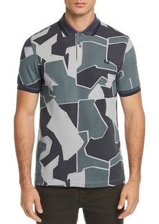 Fred Perry Modern Camouflage-Print Pique Slim Fit Polo Shirt