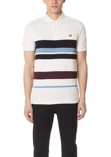 Fred Perry Multi Stripe Pique Shirt