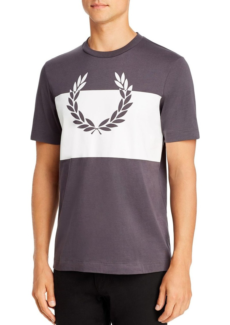 Fred Perry Printed Laurel Wreath Graphic Tee