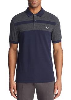 Fred Perry Stripe Piqu� Short Sleeve Polo Shirt