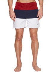 Fred Perry Striped Panel Swimshorts