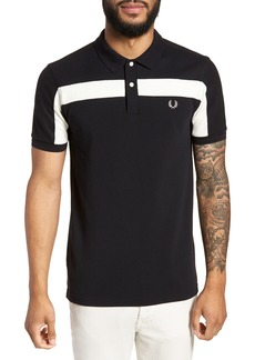 Fred Perry Textured Panel Polo